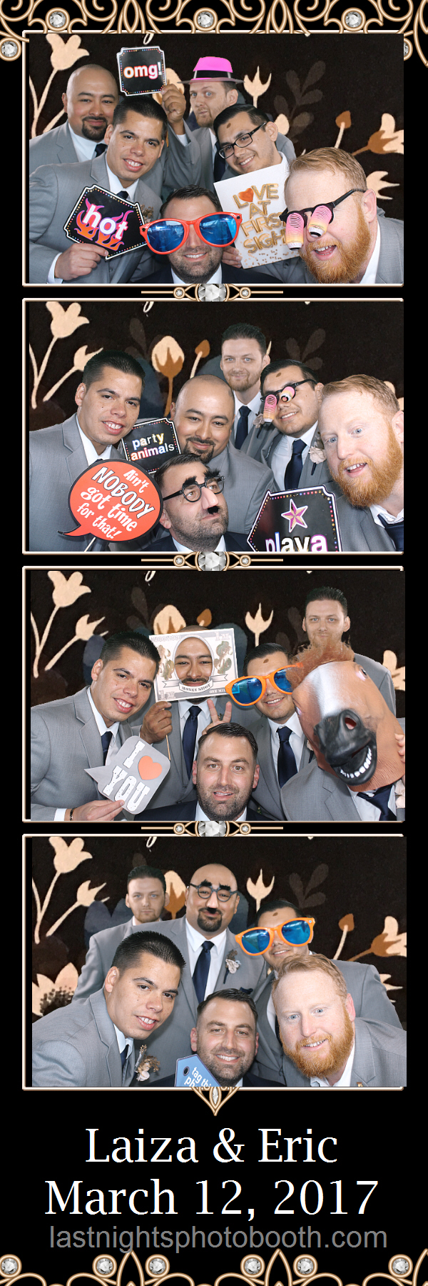 Photo Booth Rental for Laiza and Eric Wedding_39
