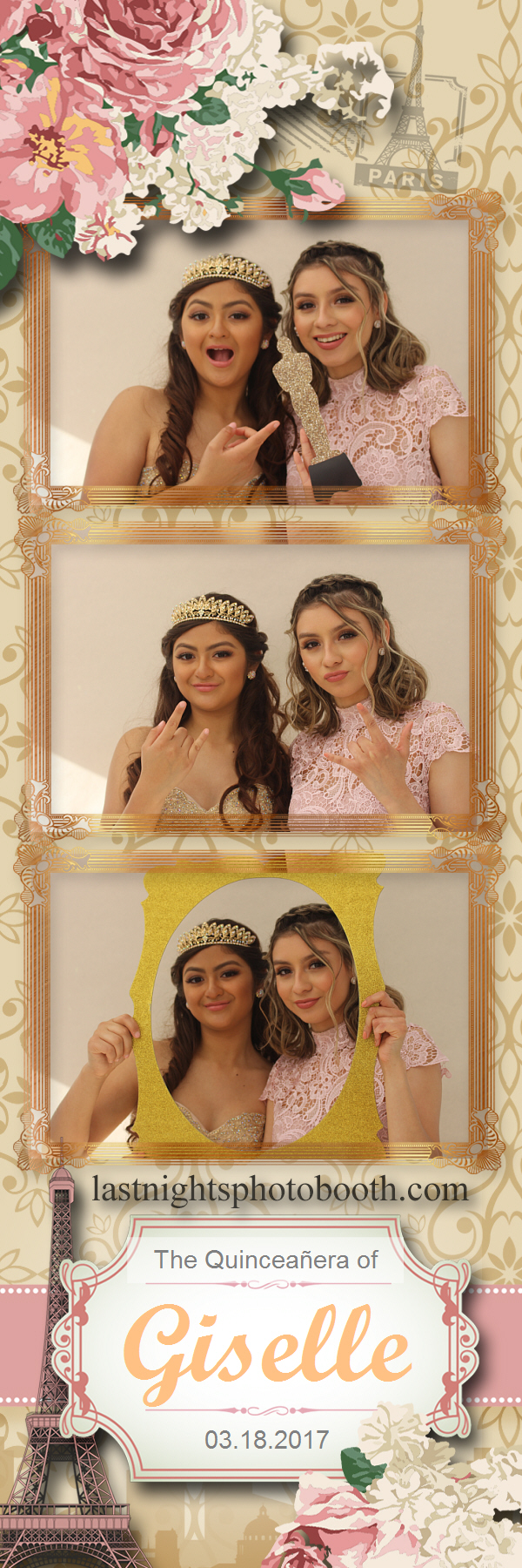 Photo Booth Rental for the quinceanera of Giselle_05