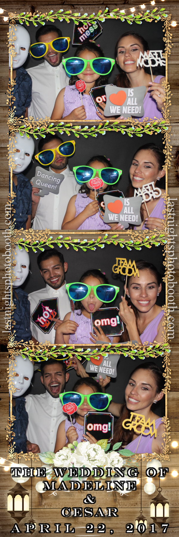 Photo Booth Rental For Madeline and Cesar Wedding_01