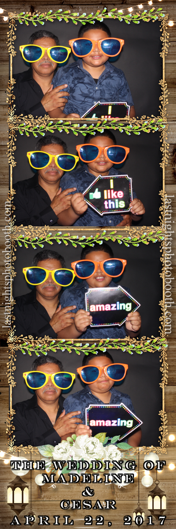 Photo Booth Rental For Madeline and Cesar Wedding_10