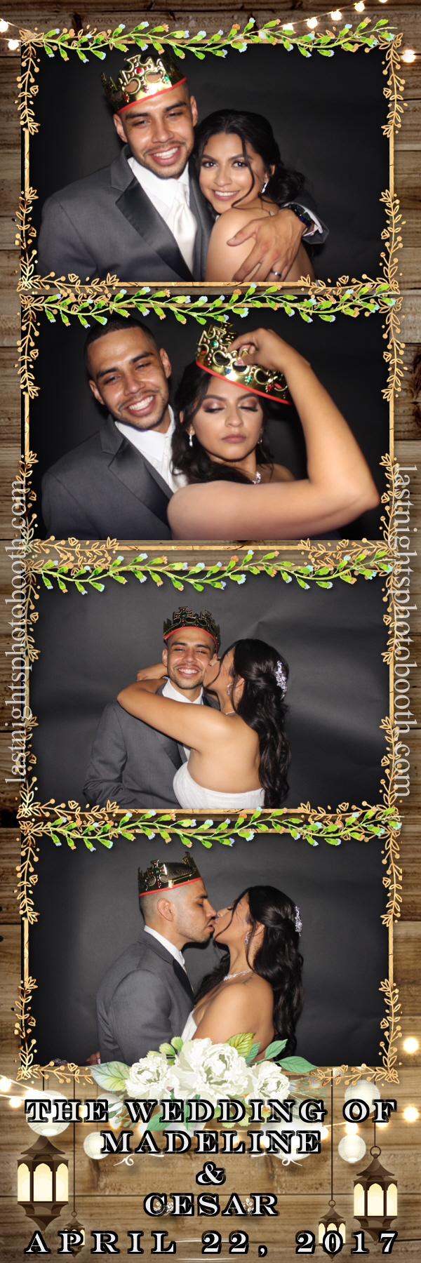 Photo Booth Rental For Madeline and Cesar Wedding_45