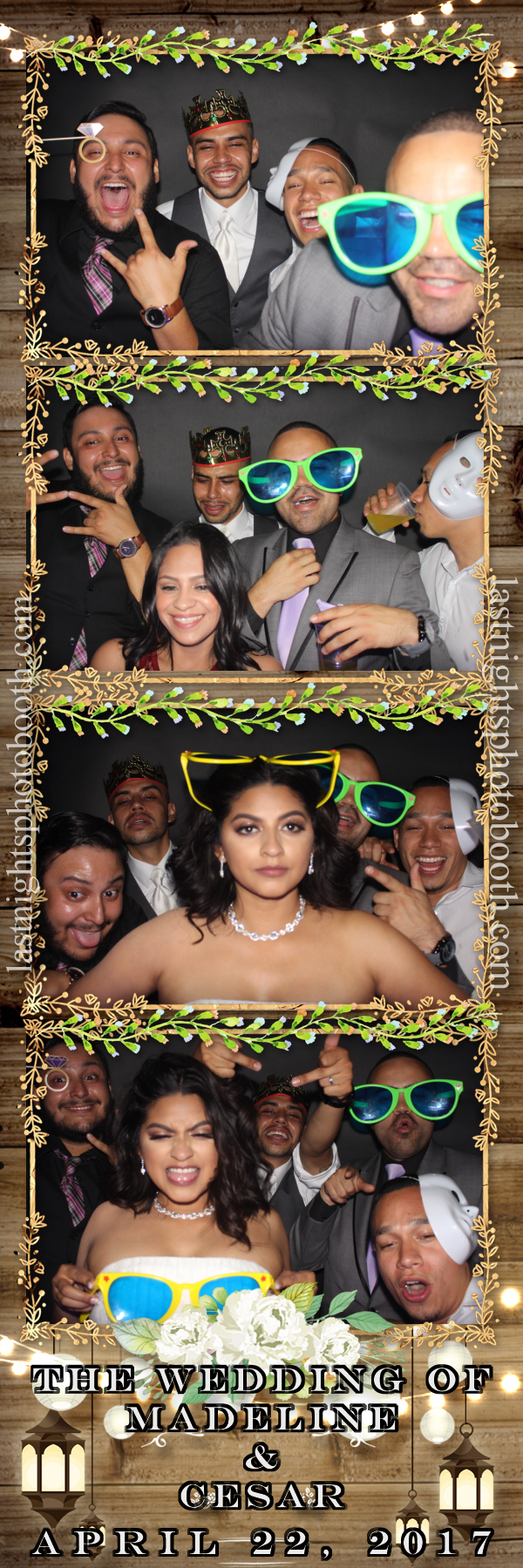 Photo Booth Rental For Madeline and Cesar Wedding_52