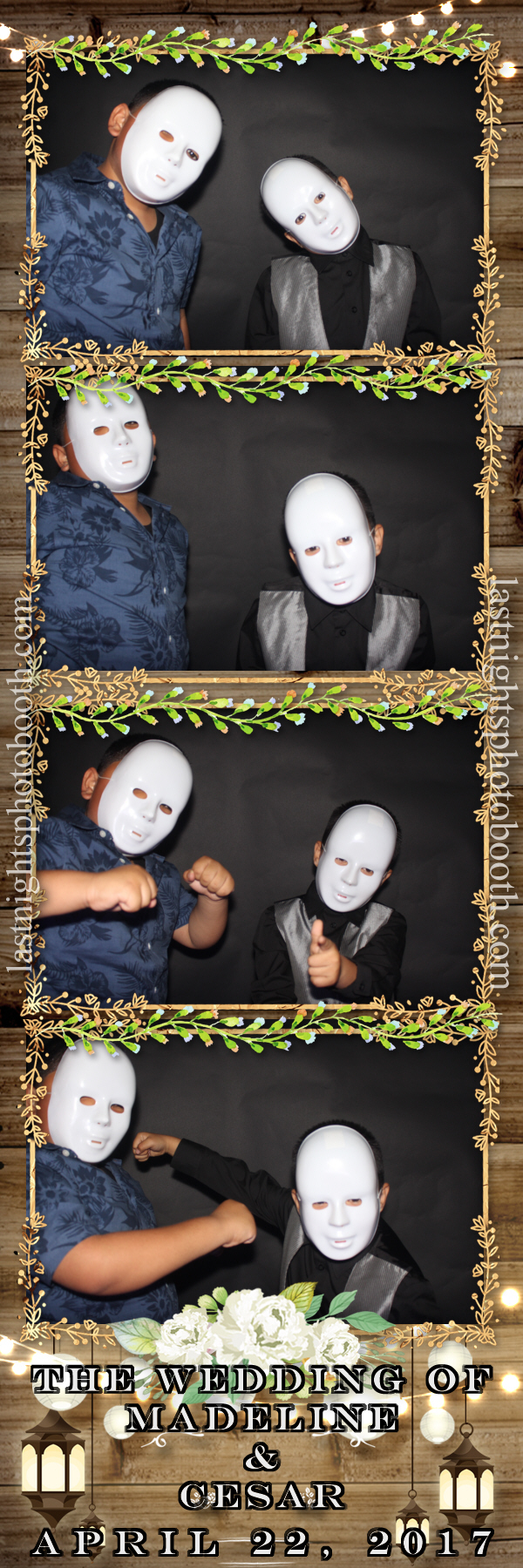 Photo Booth Rental For Madeline and Cesar Wedding_62