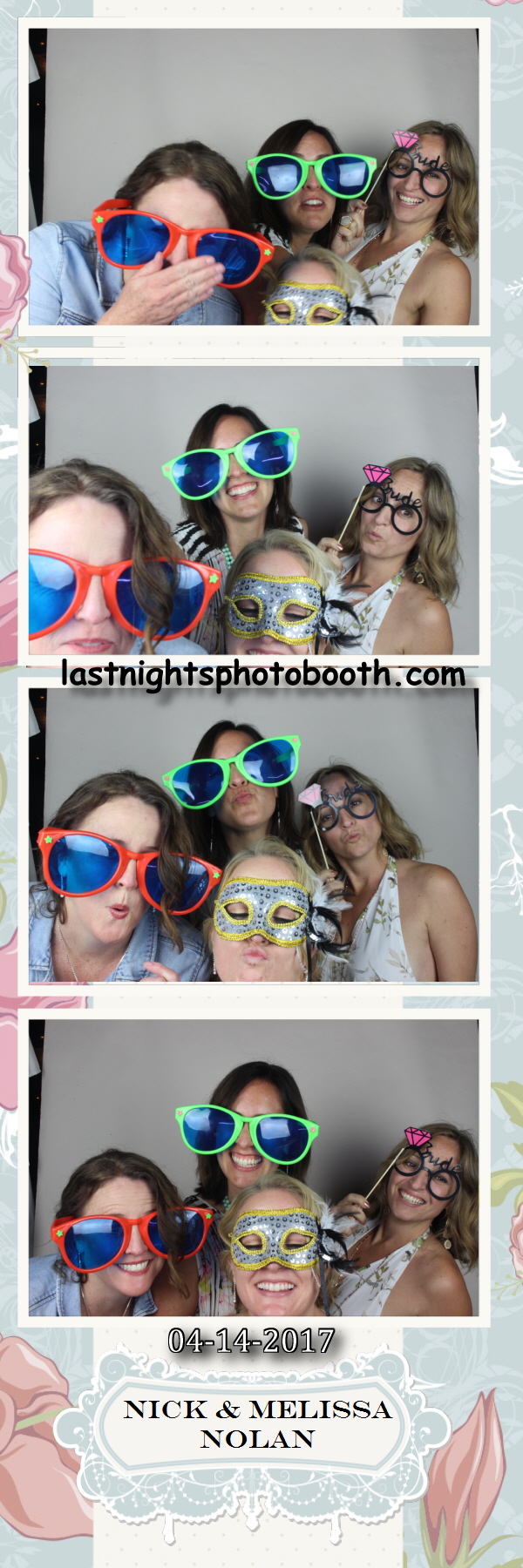 Photo Booth Rental for Nick and Melissas Wedding_23