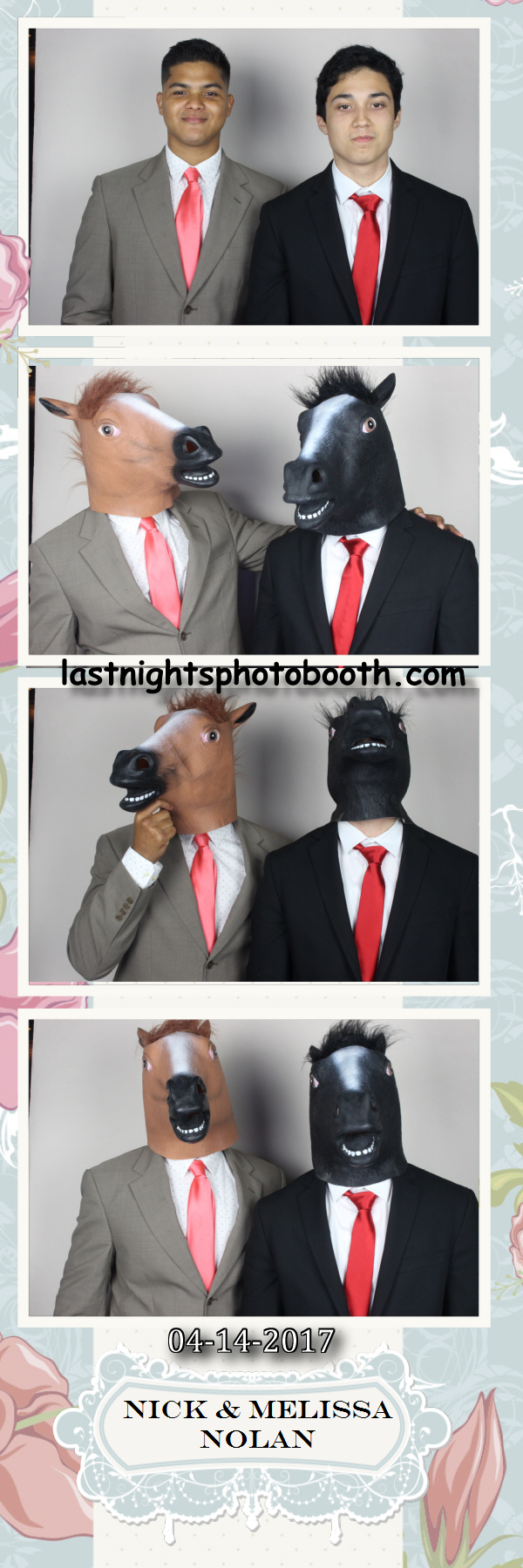 Photo Booth Rental for Nick and Melissas Wedding_30