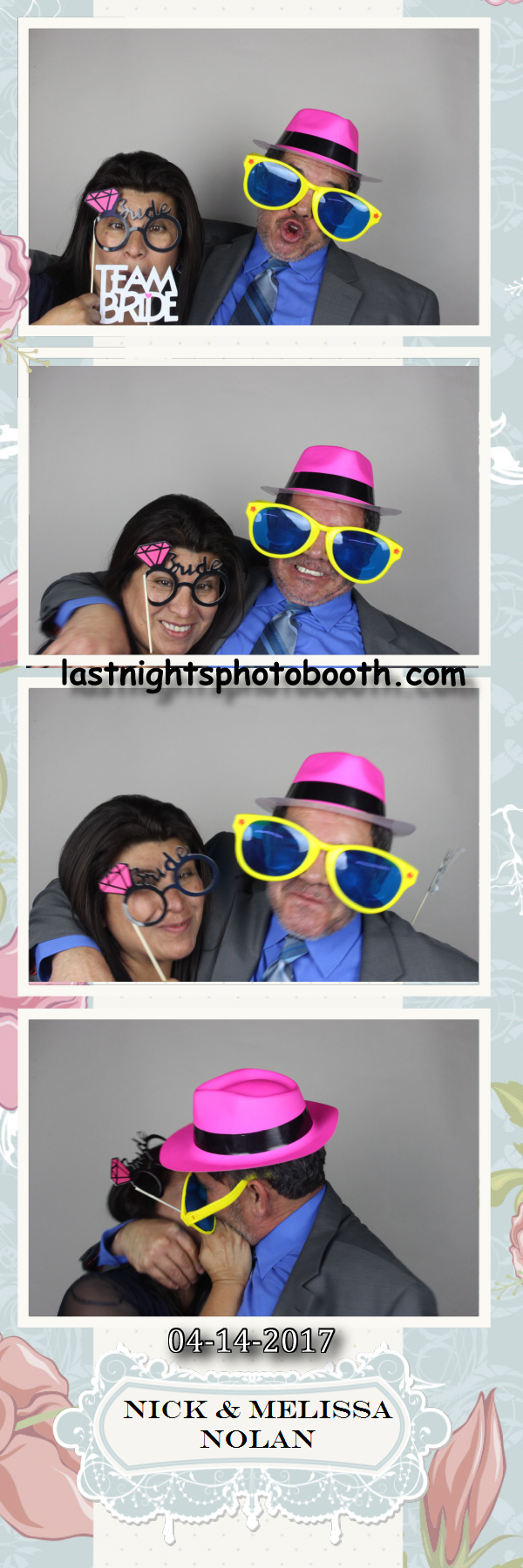Photo Booth Rental for Nick and Melissas Wedding_54
