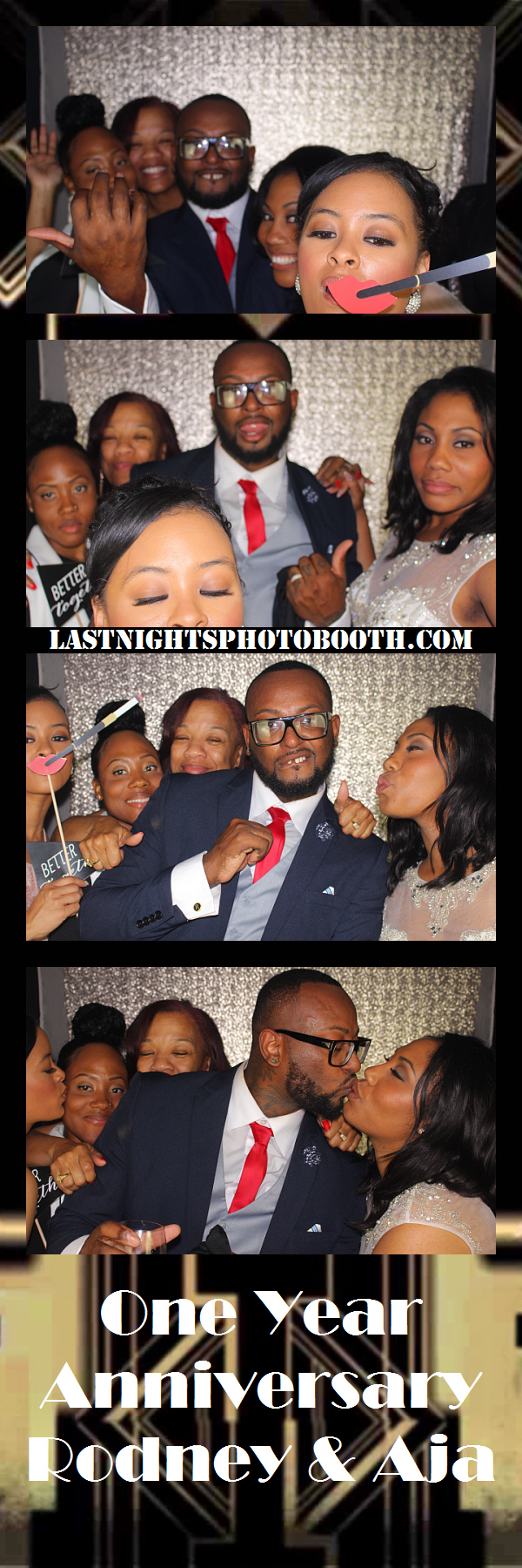 Photo Booth Rental for Rodney and Aja_96
